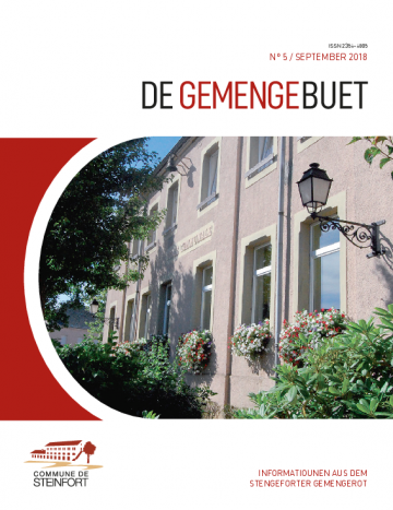 De Gemengebuet N°5 September  2018