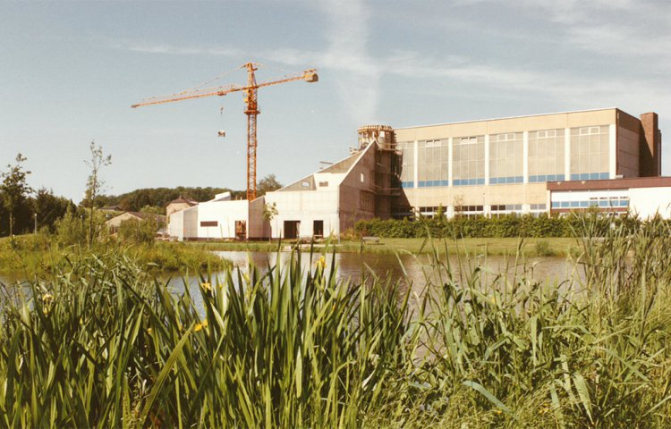 Construction Centre Roudemer 1990